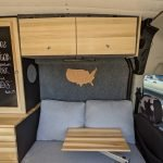 Upper cabinets for ford transit conversion by lost hiway customs