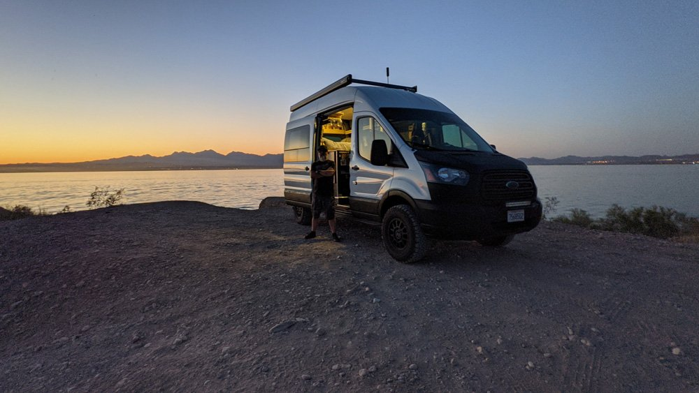 Ford Transit High roof with Van Compass Lift